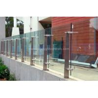 High Strength Security Toughened Glass Balustrades And Handrails