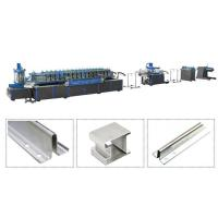 Quality Escalator Guide Rail Steel Roll Forming Machine Manual Automatic Two Operation Modes for sale