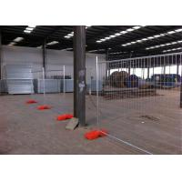Quality 42 Microns Temporary Site Fence Panels Galvanized Metal Fence 22.00kg for sale