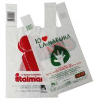 Quality Hot Sale custom Printing 100% biodegradable  plastic Shopping Bags for sale