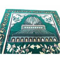 China Muslim worship blanket gold and silver line new worship blanket Hui thickened mosque Haji Hajj on sale