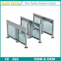 Quality Deluxe Main Gate QR Code Reader Full Automatic Bi Direction Speed Gate for sale