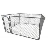 Quality 5'X10'X6' Temporary Dog Fence Removable Outdoor Dog Fence 60mm X 60mm Mesh for sale