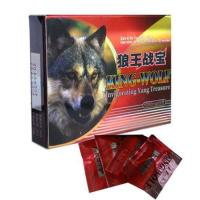 Buy cheap King Wolf Powerful Natural Male Enhancement Pills , GMP Sex Enhancer Medicine from Wholesalers