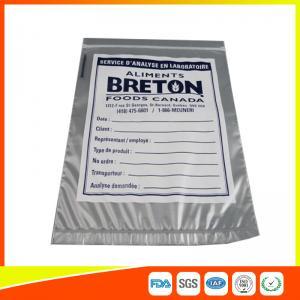 Custom Printed Zip Lock Safeguard Specimen Bag For Medical / Laboratory