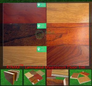 China RYMAX Laminated Magnesium Floor Tile | Waterproof Floor Tile | Fireproof Flooring on sale