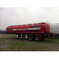 Quality 28000L-2 AXLES-Carbon Steel Monoblock Tanker Semi-Trailer for Fuel and Water for sale