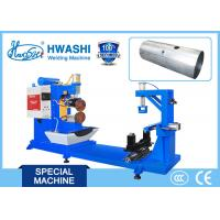 Quality Alusil / Aluminum Oil Tank Seam Welding Machine Longitudinal / Horizontal Welding for sale
