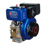 Portable 408cc Air Cooled Diesel Engine With Pressure Splashed Lubricating for sale