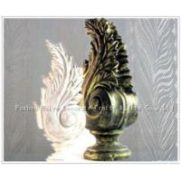 China Resin Finial For Curtain Pole on sale