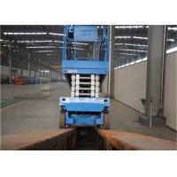 Quality Maneuverable Rough Terrain Scissor Lift Speed Adjustable High Working Efficiency for sale