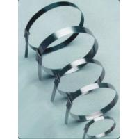 Quality Alkali Resistant Bare Stainless Steel Cable Ties , Underground Cable Ties for sale
