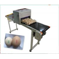 Quality CE ISO Industrial Inkjet Printer , Egg Inkjet Marking Equipment 12v 4a for sale