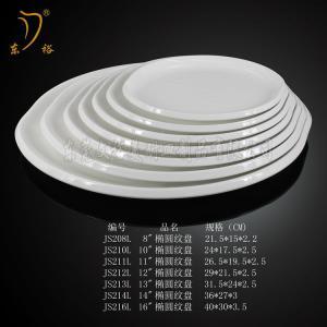 Quality Melamine plate  plastic dish dinnerware set for sale