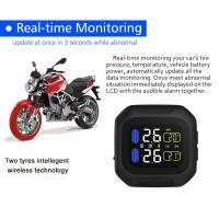 Quality Global use Motorcycle Tire Pressure Monitoring System TPMS Sensors with External Sensor for sale
