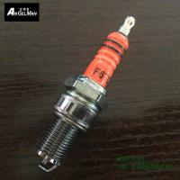 China Orange  torch F6TC Copper Spark Plugs same as BP6ES M14 * 1.25 mm short on sale