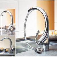 best quality brass chrome painted rotatable kitchen pull down sink