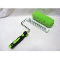 China Green Polyester Smooth Roller Paint Brush , 7 / 9 Paint Corner Roller on sale
