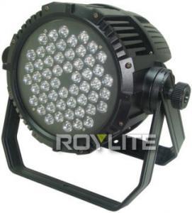 Quality Outdoor DMX Control LED CT 54 x 3w LED Par Cans Color Temperature 3200K - 6300K for sale