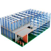 Quality Two Level Storage Shelving Warehouse Mezzanine Systems Customized Height for sale