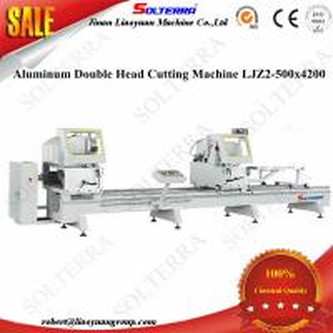 Quality Aluminium Alloy windows Double Head Saw Cutting Machine LJZ2-500x4200 for sale