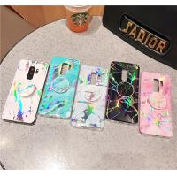 Quality Samsung S7(edge)/S8(plus)/S9(plus)/Note 8/9 TPU marble case with holder, Samsung protective TPU case, Samsung cases for sale