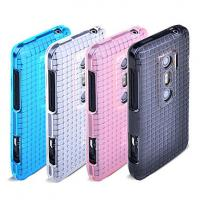 China Durable Frosted Cell Phone TPU Case, htc evo 4g 3d accessories for HTC EVO 3D on sale