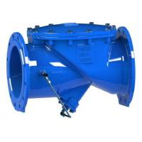 Quality Hydraulic Cushion Swing Type Check Valve Ductile Iron Body No Clog Design for sale