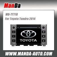 Quality hot sell car multimedia for Toyota Tundra 2014 in-dash gps factory car navigation system auto dvd for sale