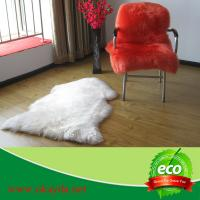 Quality 55x80cm reasonable price sheepskin rugs sheep fur rugs made in China for sale