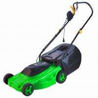 Quality Electric Lawn Mower with certificates  -  safe  / with a dry battery  1400w for sale