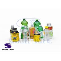 Quality Recycle Shrink Wrap PET Bottle Wrap Labels for Energy Drinks / Paints / Detergent for sale