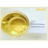 China Oil Injectable Anabolic Steroids Testosterone Enanthate 250 For Weight Loss on sale
