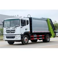 China Diesel Compressed Garbage Truck  / Dongfeng 12 CBM Carbon Steel Garbage Truck on sale