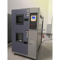 Buy cheap Two Room Thermal Shock Test Equipment Capacity 30 To 450 Litre SSR Solid-sate from wholesalers