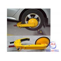 Quality A3 Steel Manual car wheel lock With Imported Locks , wheel clamps for cars for sale