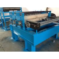 Quality Sheet Metal Steel Coil Slitting Machine 10 Strips Rubber Roller for sale