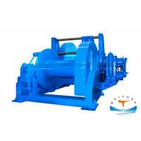 Quality CCS Certificated Hydraulic Tugger Winch 10t-80t Pull Capacity Marine Steel Material for sale