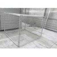 Quality Customized Galvanised Steel Rubbish Cage HDG 14 Microns / 42 Microns for sale
