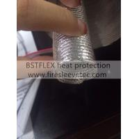 Buy cheap aluminum fiberglass heat protection tube from wholesalers