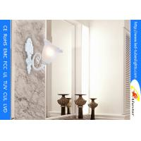 Quality Aluminum Lamp Shades Led Wall Lamps White Resin Painted Corridor Living Room Glass for sale