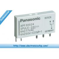 Quality APF30224 Electrical PCB Power Relay 255-2912 For PPC / Facsimile , SPDT 6A DC 24V for sale