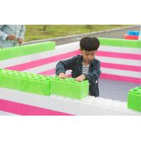 China large lightweight educational building bricks giant building blocks for toddlers toys blocks plastic on sale