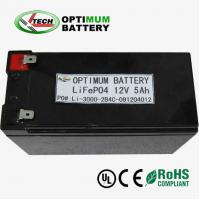Quality Lifepo4 12v 10ah  Lithium-Ion Battery Packs For Light Emitting Diode for sale