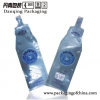 Quality 500ml Beverage Injection Stand up Liquid Pouch with PE Material D0128 for sale