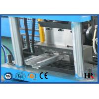 Quality Door Frame Making Machine , Galvanized Steel Sheet Roll Forming Machine for sale