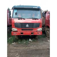 Quality Sinotruk HOWO 8x4 380hp Second Hand Tipper Trucks Heavy Duty 15 Ton ISO 3C Listed for sale