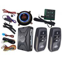 Quality Motion Sensor Car Alarm Smart Car Alarm System With Auto Central Lock Or Unlock for sale