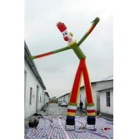 Quality Colorful Wacky Waving Arm Inflatable Flailing Tube Man / Blow Up Dancing Man for sale
