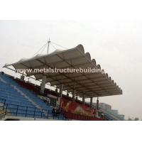 Aluminum Window Prefabricated Steel Structures Round Steel Brace For Stadium
